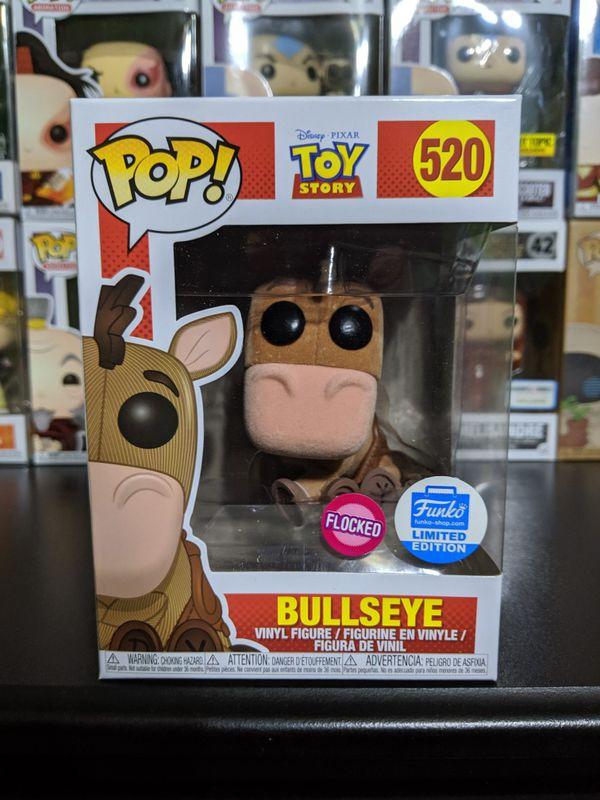 Bullseye Funko Pop! Flocked