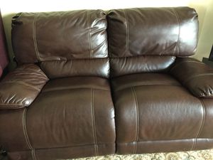 Leather Love Seat - Recliner for Sale in Alexandria, VA