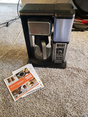 Ninja coffee maker for Sale in Redmond, WA