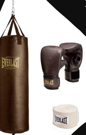 New!! 100 lb heavy bag kit, exercise equipment, fitness equipment for Sale in Phoenix, AZ