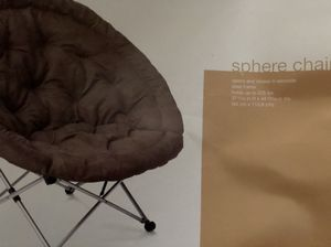 Sphere chair - foldable- like new for Sale in Bellevue, WA