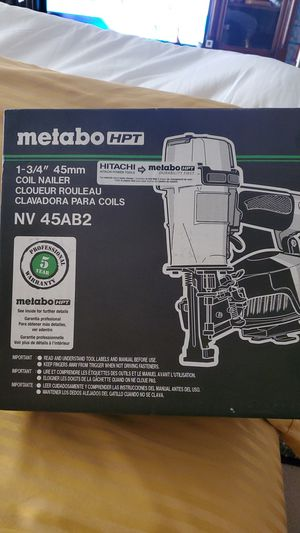 Metabo NV 45AB2 for Sale in Moreno Valley, CA