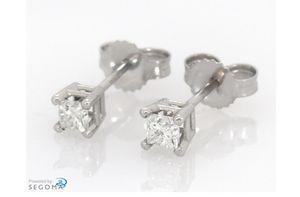 Jared 1 carrat diamond earrings for Sale in Portland, OR