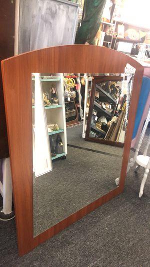 Wood framed wall mirror for Sale in Farmington Hills, MI