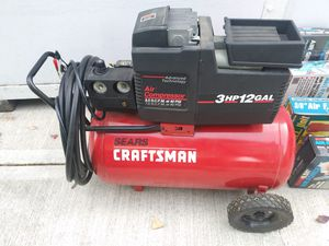 Craftsman air compressor and misc. for Sale in Milwaukie, OR
