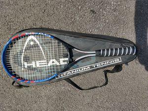Head titanium tennis racket for Sale in Malta, NY