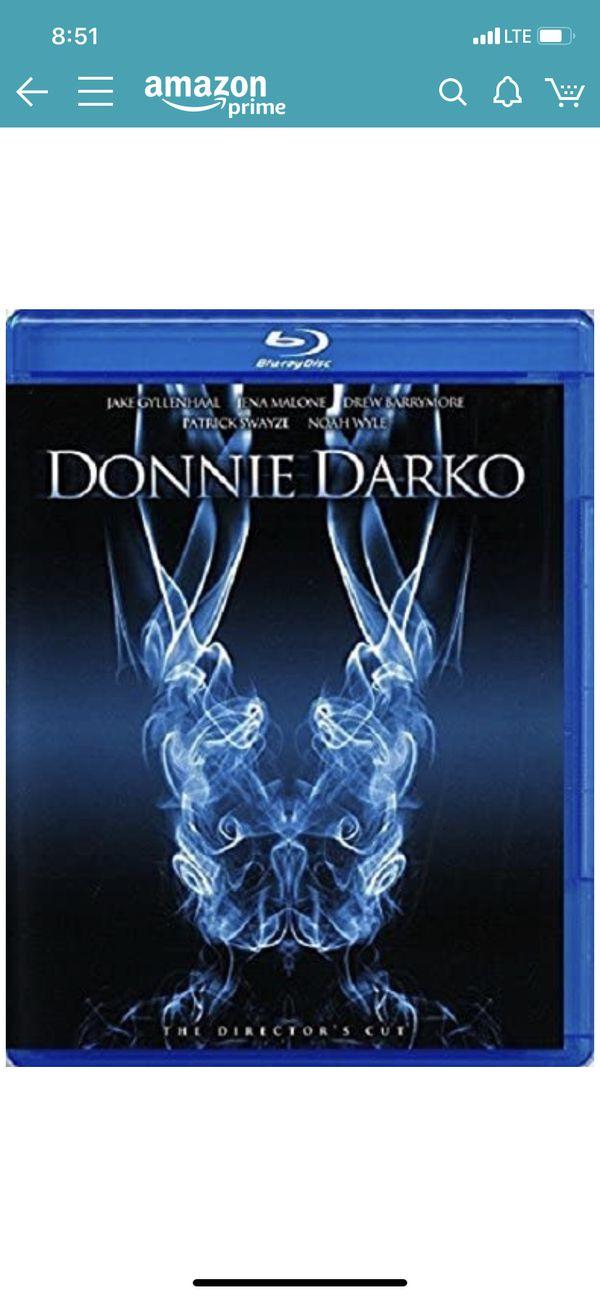 DONNIE DARKO BLU RAY & DVD DIRECTORS CUT OUT OF PRINT