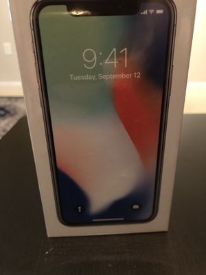iPhone X64GB unlocked for Sale in Houston, TX