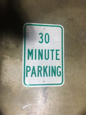 Parking sign for Sale in Monrovia, CA