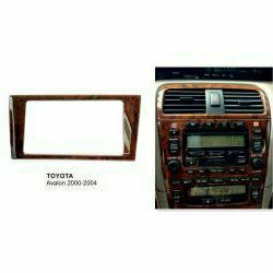 Radio Fascia for Toyota Avalon 2 Din Dash Kit Trim Installation Panel - $40 (Pawtucket) for Sale in Providence,  RI