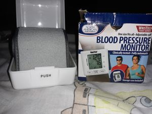 Health and Wellness Blood Pressure Monitor for Sale in Richmond, VA