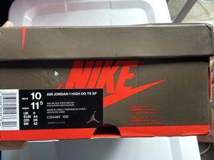 Air Jordan 1's Travis scott / Bred toe for Sale in Los Angeles, CA