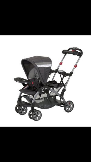 Baby trend sit n stand double stroller for Sale in Fairfax, VA