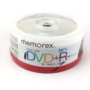 Memorex dvd+r 8X/{link removed} min 25pk new for Sale in Tamarac, FL