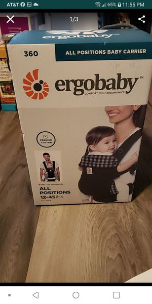 Ergobaby All positions baby carrier for Sale in North Las Vegas, NV