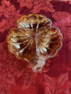Carnival glass vintage serving plate for Sale in Seal Beach, CA