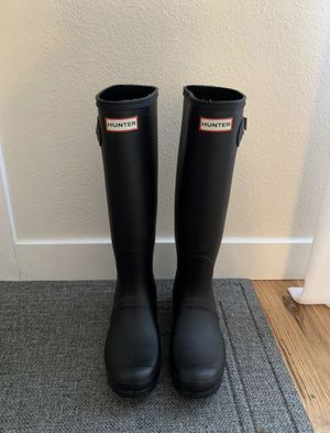 Black Hunter Boots for Sale in Tacoma, WA