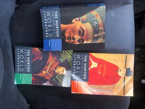 The Norton Anthology World Literature vol.A, B,C for Sale in Wylie, TX
