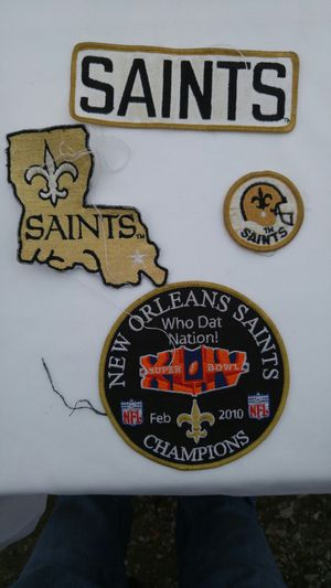 New Orleans Saints Patches for Sale in Alexandria, LA