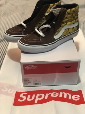 Supreme Vans Diamond Plate Size 10 for Sale in Brooklyn, NY
