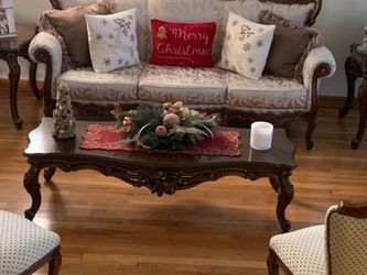 8-piece Classic Living Room Sofa Set (Louise XVI) for Sale in Queens,  NY