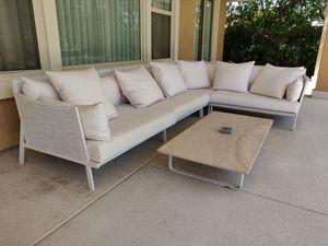Full KETTAL outdoor sofa set for Sale in Las Vegas, NV