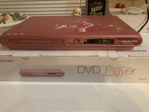 Memorex Pink DVD CD Player Combo for Sale in Orlando, FL