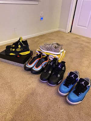 Jordan Nike And Adidas Bulk deal Size 10-12 for Sale in Mansfield, NJ