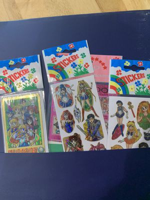Sailor moon trading cards for Sale in Santa Rosa, CA