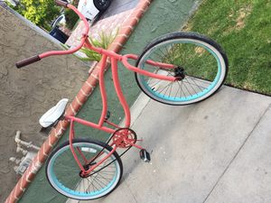 Woman's Greenlinebeach cruiser in great shape and ready to ride for Sale in Fountain Valley, CA