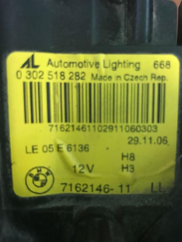 2007 BMW 335 right headlight