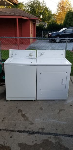 Kenmore washer and gas dryer set (can deliver) for Sale in Dearborn Heights, MI