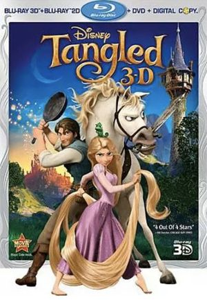 Disney Tangled 3D 4 Disk Blue Ray DVD Brand New Sealed with price tag for Sale in Alhambra, CA