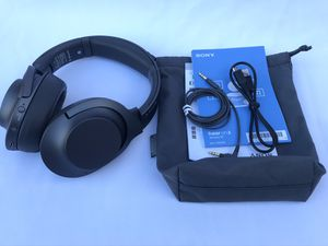 Sony hear on 2 Wireless Bluetooth Noise Cancelling Headphones for Sale in Bellflower, CA