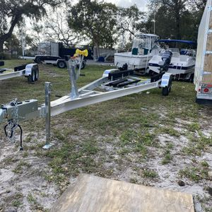 New Sea Hawk Aluminum trailer, 24-27ft, 10k, $4,800 plus tax for Sale in Fort Lauderdale, FL