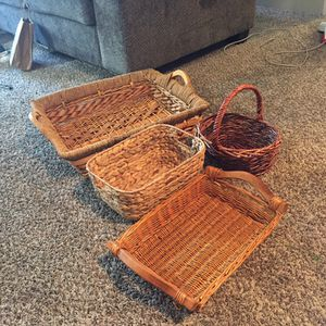 Assorted Baskets For Organization for Sale in Everett, WA