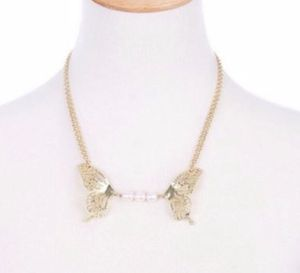 BRAND NEW Unique butterfly pearl gold chain necklace for Sale in Goodyear, AZ
