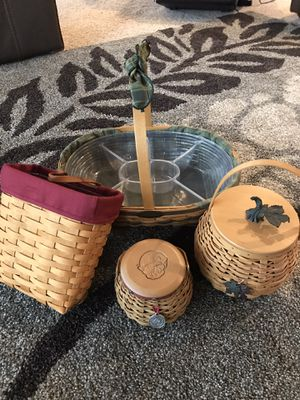 Longaberger collection for Sale in Gig Harbor, WA