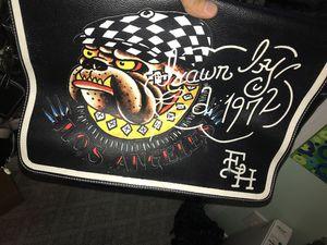 Ed hardy Messenger bag/backpack/laptop bag for Sale in Houston, TX