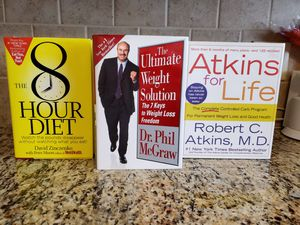 The best books for a healthy lifestyle for Sale in Irving, TX