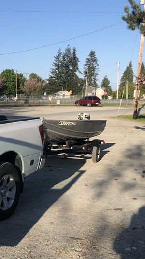 12ft aluminum boat Gregor for Sale in Sultan, WA