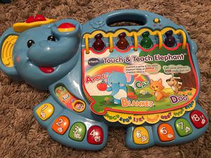 Vtech touch and teach elephant for Sale in Peoria, AZ
