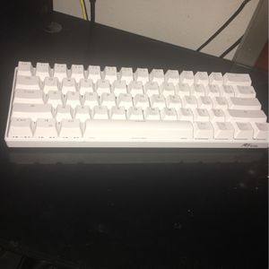 RK61 gaming keyboard blue backlit for Sale in Dallas, TX