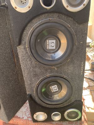 """10""""inch diesel audio subwoofers no box for Sale in Romoland, CA"""