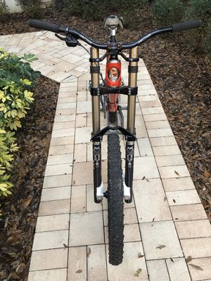 Downhill Mountain Bike Bicycle MindBomb Medium frame Marzocchi Monster T for Sale in Lithia, FL