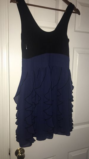 Express black and blue dress for Sale in Alexandria, VA