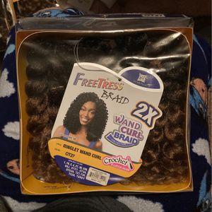 Freetress Wand Curl Crochet Hair (3)! for Sale in Tacoma, WA