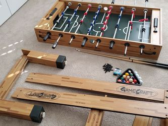 GameCraft Foosball And Pool Table for Sale in Marietta,  GA