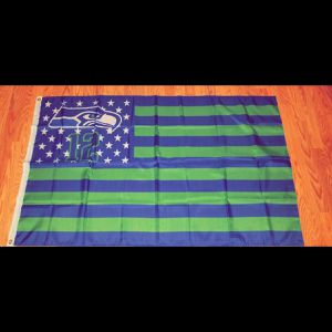 Seahawks flag 3x5ft new for Sale in Victorville, CA