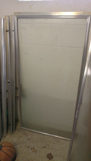 Glass shower door for Sale in McKnight, PA